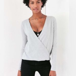 Project Social Urban Outfitters Criss-Cross Top